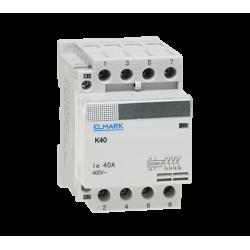 Contattore modurare 3NO+1NC AC 230V K40