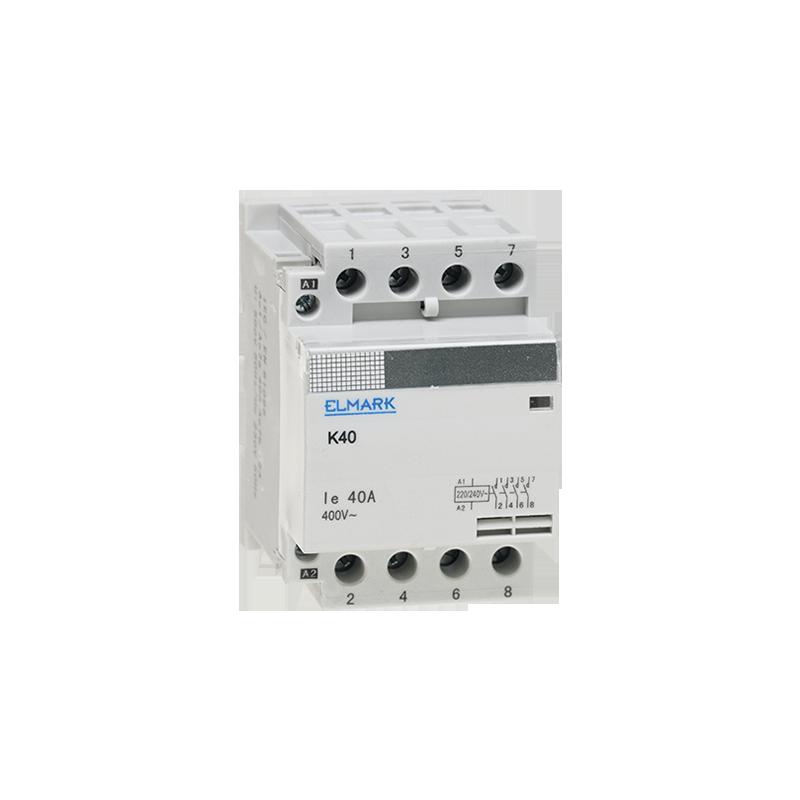Contattore modurare 2NO+2NC AC 230V K40