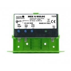 Amplificatore da palo MBX4/RULOG
